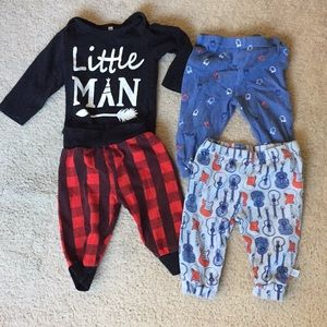 Hipster baby 3 piece lot